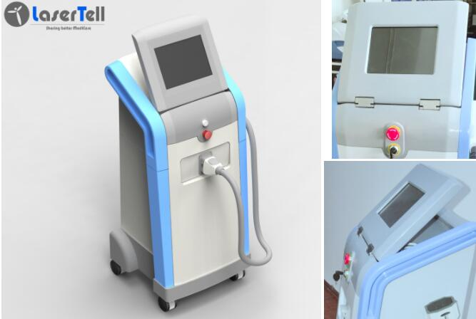 Intelligente Touch Screen 808nm Dioden-Laser-Haar-Abbau-Maschine 1 - genaue Behandlung der Frequenz-10Hz